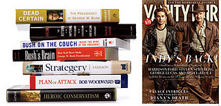 On the Newsstand: Judging Bush Books in Vanity Fair