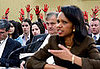 Picture It: Secretary Rice Testifies Before Anti-War Group