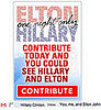 Elton John Violating US Election Laws?