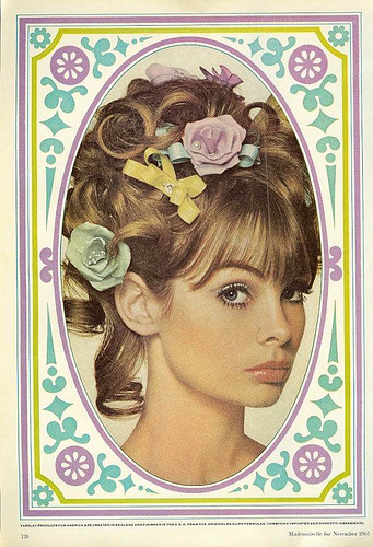 Beauty Ads From the Sixties
