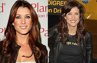 Kate Walsh Dyes Her Hair Dark Brown