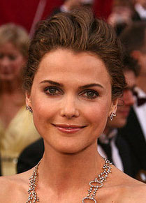 Keri Russell at the Oscars: hair and makeup
