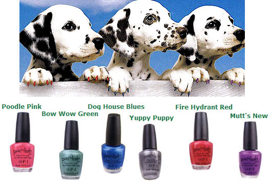 OPI Dog Pawlish