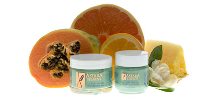 Astara Green Papaya Nutrient Mask, $29