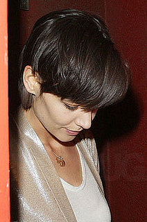 Katie Holmes' hair: the new cut!