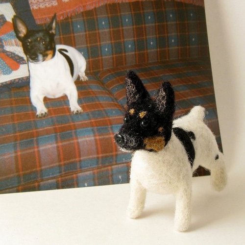 "Would You ""Needle Felt"" Your Pet?"