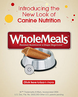 WholeMeals™ Brand Offers Premium Nutrition in a Shape Dogs Love!