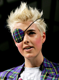 Agyness Deyn Is Interviewed On Friday Night With Jonathan Ross