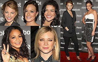 Leighton Meester, Jessica Szohr and Blake Lively Attend Reebok Freestyle World Tour Event In New York