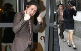 Mark Owen Returns To His Hotel At 11am The Day After The Brits 2008