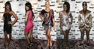 Kelly Rowland, Ciara, Alesha Dixon and Simon Webbe at Choice FM's 18th Anniversary Party