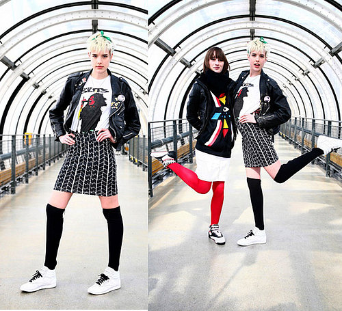 Agyness Deyn for European Launch of Reebok Cities