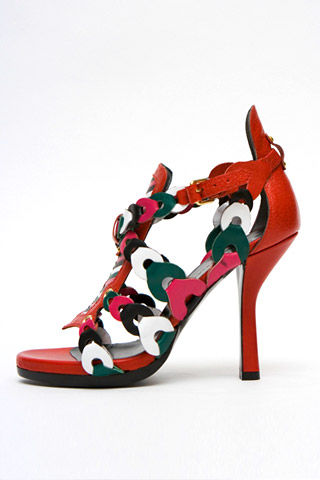 Runway Accessories - Balenciaga Shoes