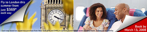 Summer Savings to London!
