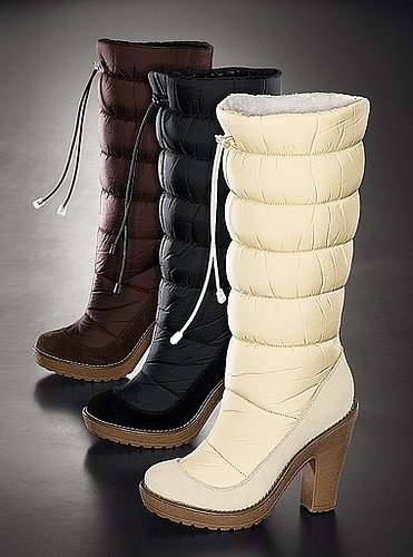 Drawstring boot
