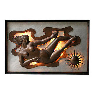 Love It or Hate It? Illuminated Art-Deco Wall Panel