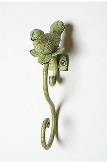 Love  It or Hate It? Garden Birdie Scroll Hook
