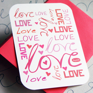 The Card Shop: Set of 4 Valentines by SusyJack*