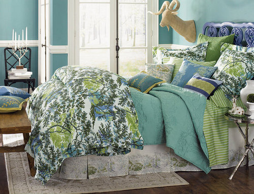 Win this 1891 by Sferra Arbor Bedding Set!