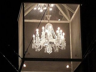 Cool Idea: Chandeliers in the Street