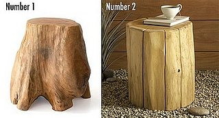 Less or More: Tree Stump Stools