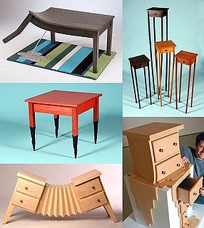 Weird Furniture: Straight Line Designs