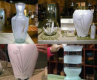 DIY: Etched Glass Vase
