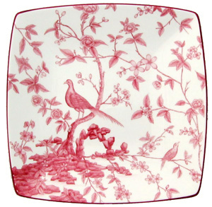 Crave Worthy: Chinoise Garden Bird Toile Plate Set