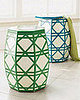 Nice and New: Neiman Marcus Cane Garden Stool