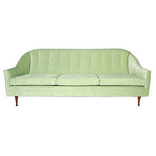 Crave Worthy: Paul McCobb Velvet Sofa