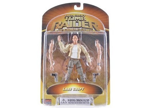 Lara Croft Toys from second Movie