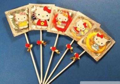 Hello Kitty Condoms