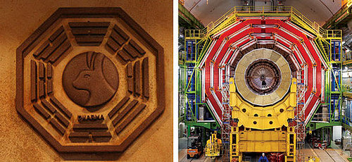 LOST and the Large Hadron Collider