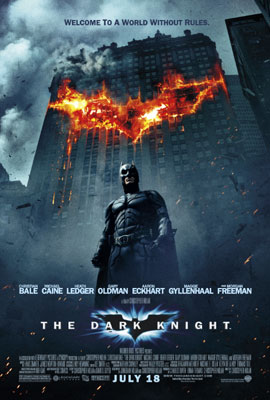 """The Dark Knight"" is a horror flick"