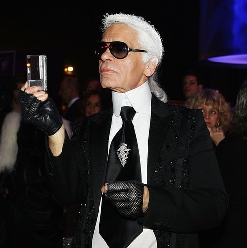 Fab Blab: Karl Lagerfeld Defends High Fashion