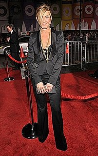 Jennifer Aniston in Black Burberry Tuxedo: Love It or Hate It?