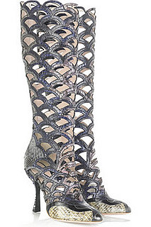 Miu Miu Python Cut Out Boots: Love It or Hate It?