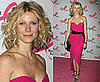 Gwyneth Paltrow in vintage Christian Dior at the Breast Cancer Research Foundation in NYC