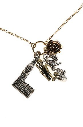 Simply Fab: Destination Charm Necklaces