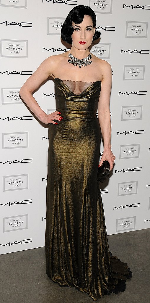 Dita von Teese at MAC event