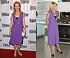 Who Wore It Better? Joan Allen and Kelly Ripa in Marc Jacobs Crepe Dress