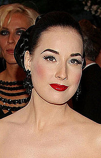 Dita Von Teese at the Costume Institute Gala