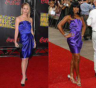 Who Wore It Better? Donna Karan Strapless Pleat Dress