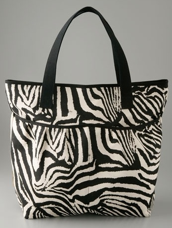 The Bag to Have: Lauren Merkin Animal Print Tote