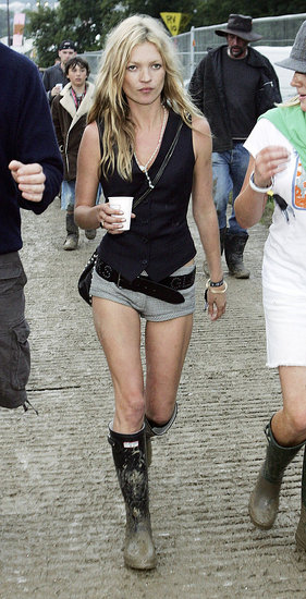 Kate Moss&#039;s Glastonbury Style 