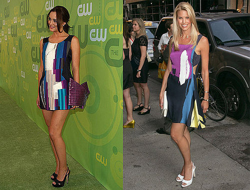 Who Wore It Better? Chloe Colorblock Dress