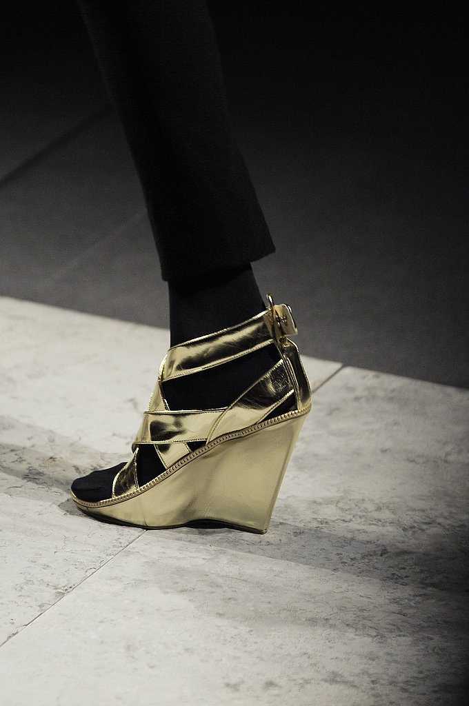 Givenchy Gold Wedge