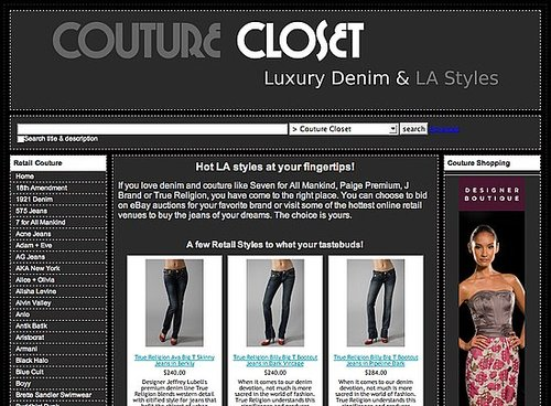 Fab Site: CoutureCloset.us