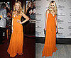 Who Wore It Better? Orange Gucci Resort Maxi Dress