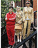 The Ronsons as The Royal Tenenbaums in Bazaar Magazine